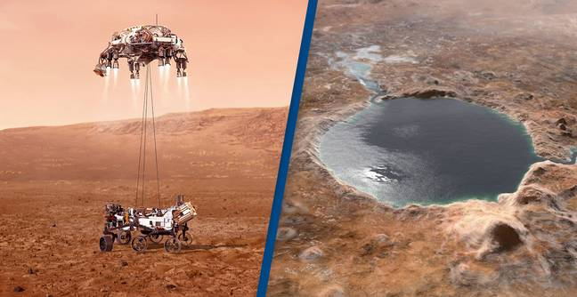 NASA's Mars Rover Is About To Land In Perfect Place To Hunt For Alien Fossils