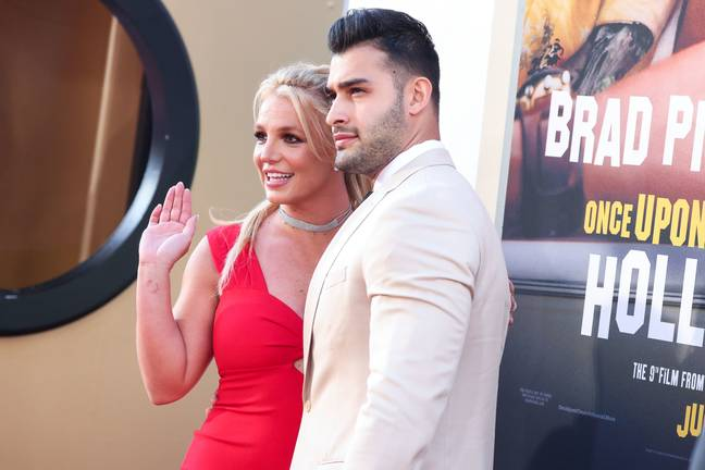 Britney Spears and Sam Asghari (PA Images)