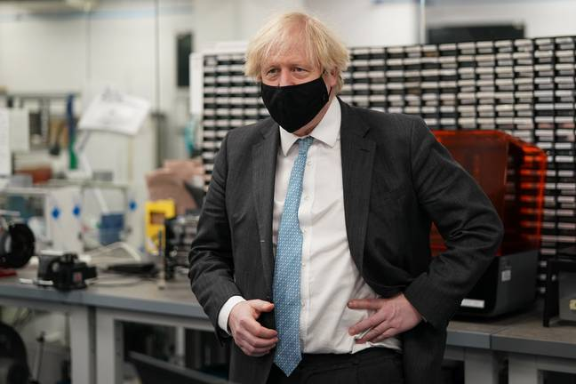 Boris Johnson visits manufacturing facilities in the North East (PA Images)