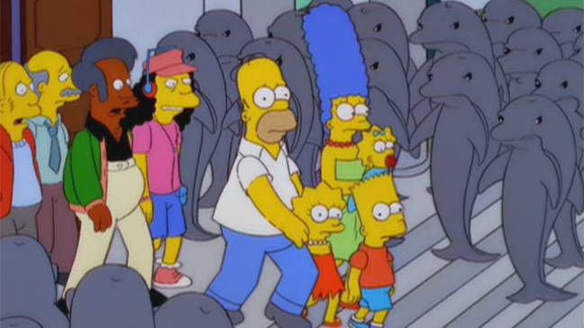 Simpsons Dolphins