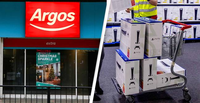 Argos Tells Customers To Make A Cuppa After Site Crashes During 4am PS5 Restock