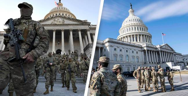 Keeping National Guard In DC Since Capitol Riot Has Cost Approximately $438 Million