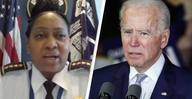 Capitol Police Chief Says Terrorists Want To 'Blow Up Capitol' At Biden's State Of The Union Speech