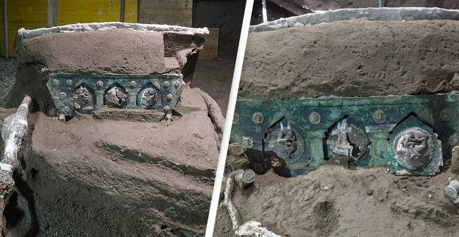 'Extraordinary' 2,000-Year-Old Ceremonial Chariot Unearthed In Pompeii