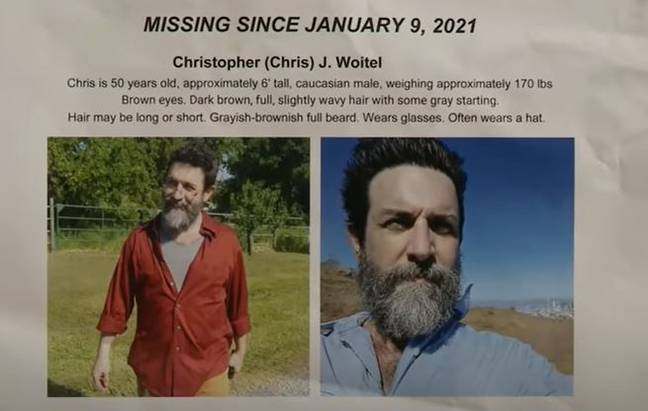 Chris Woitel missing for more than a month