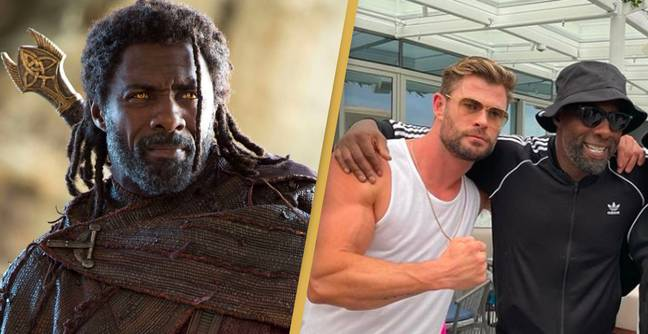 Idris Elba Party With Chris Hemsworth And Now People Think He's In Thor 4