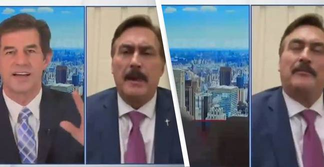 News Anchor Walks Off Air After MyPillow CEO Mike Lindell Refuses To Shut Up About 'Voter Fraud'