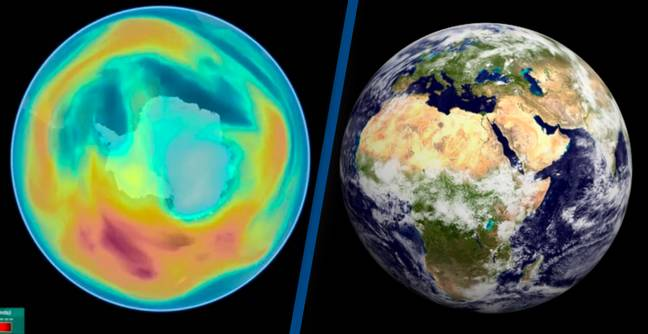 Ozone Layer Healing Again As Destructive Chemicals In Atmosphere Decline