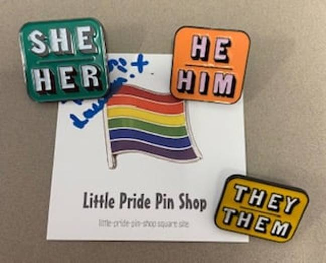 High School Praised For Introducing Pronoun Badges To Help Trans Students