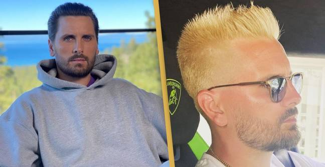 Scott Disick Bleached His Hair And Everyone's Making The Same Joke