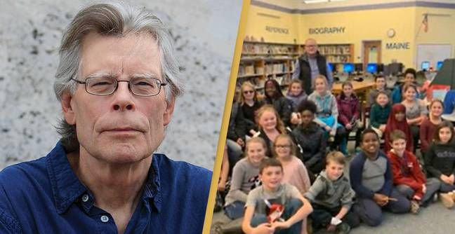 Stephen King Donating $6,500 To Young Students So They Can Publish Their Own Books
