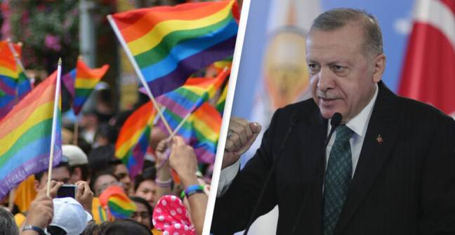 Turkish President Says 'There's No Such Thing As LGBT'