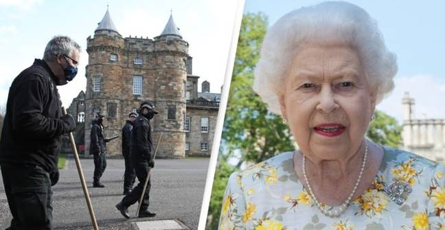 Man Arrested As Bomb Disposal Squad Called To Queen's Edinburgh Palace
