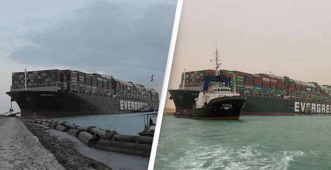 Ever Given Ship Is Still Stuck In Suez Canal