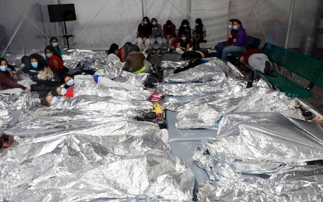 White House Releases Shocking Photos From Child Detention Sites After Intense Criticism