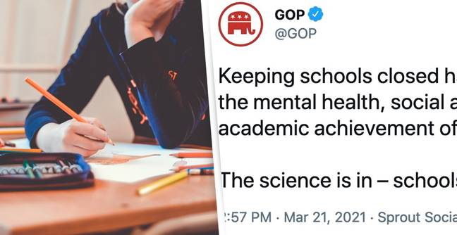 Republican Party Trolled After Making Embarrassing Typo In Tweet About Importance Of Education