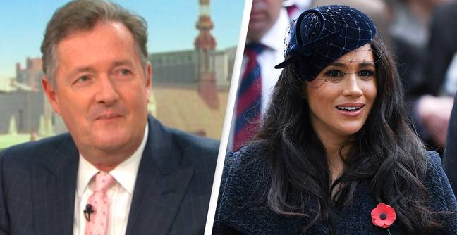 Mental Health Charity Condemns Piers Morgan For Saying He Didn't Believe Meghan Markle Felt Suicidal