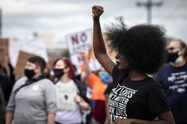 BLM protesters (PA Images)