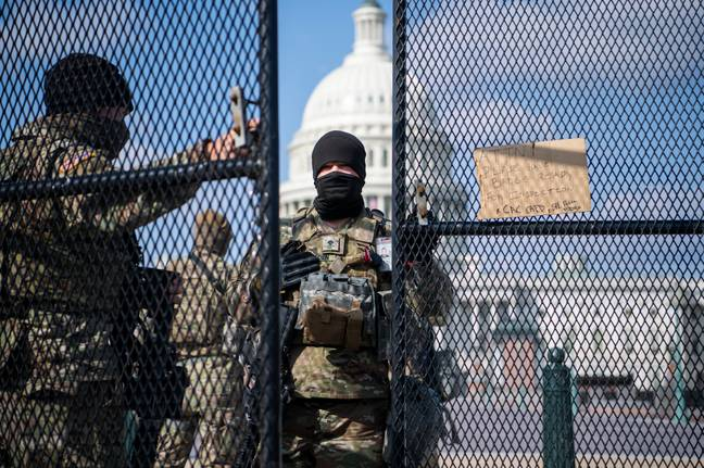 Security at Capitol as QAnoners believe Trump will be inaugurated