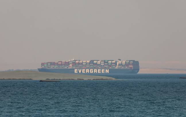 Ever Given ship (PA Images)