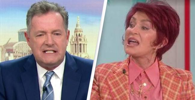 Piers Morgan Defends Sharon Osbourne After She Exits The Talk Amid Accusations Of Racism