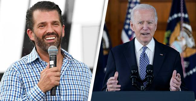 Donald Trump Jr Criticised For Sharing Video Of His Father 'Attacking' Biden