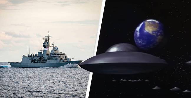 UFOs Harassed Three Warships For Several Days, Logs Report