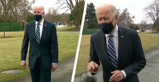 Conspiracy Theorists Convinced Joe Biden Used Green Screen To Fake Recent Appearance