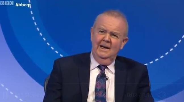 Ian Hislop Savagely Mocks Government's Briefing Room Spending On Question Time