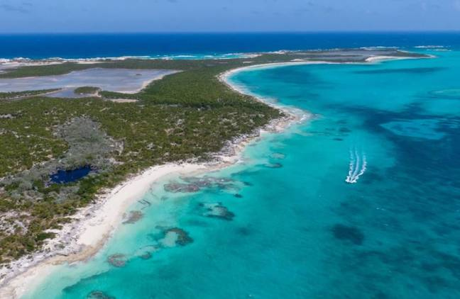 Private island for sale in Bahamas