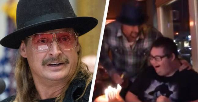 Kid Rock Surprises Fan With Special Needs At His Birthday Party