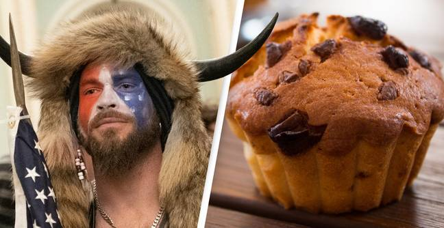 QAnon Shaman Claims He Stopped Muffin Heist During US Capitol Riot