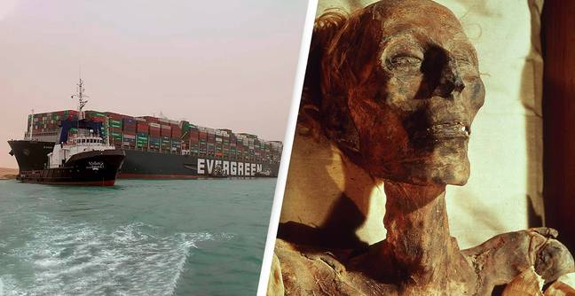 Suez Canal Chaos And Train Crash Blamed On 'Pharaoh's Curse' Over Plan To Move Ramesses II