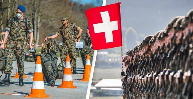 Swiss Army To Stop Issuing Female Recruits With Male Underwear