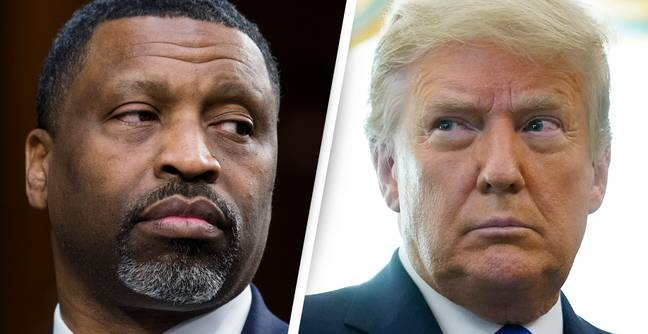 NAACP Head Says Suing Trump Will 'Cut Head Off Serpent Of White Supremacy'