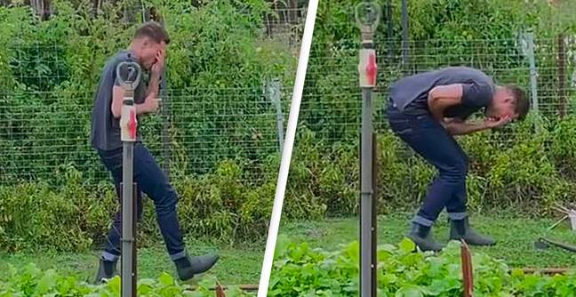 Zac Efron 'Accidentally Hits Himself In Face With Rake' While Filming New Netflix Show