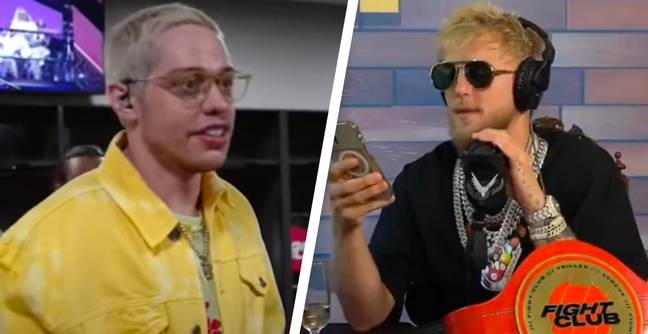 Jake Paul Calls For Pete Davidson To Be Banned From Boxing Commentary After He Mocked Him