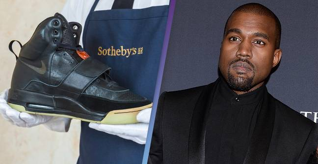 Kanye West's First Ever Pair Of Yeezy's Are Going On Sale For $1 Million