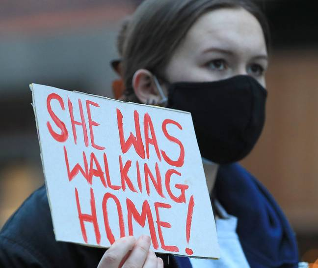 Protest for women's safety (PA Images)