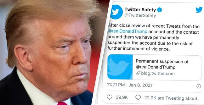 Trump's Tweets Will Not Be Preserved In National Archive Because Of Twitter Ban