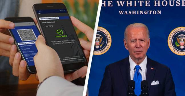 Texas Bans Vaccine Passports With Governor Warning Biden 'Don't Tread On Our Personal Freedoms'