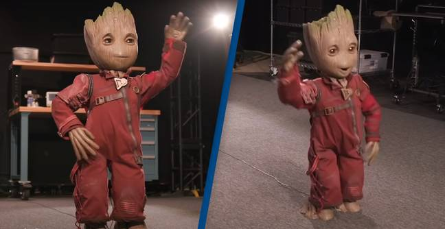Disney Creates Groundbreaking Baby Groot Robot That Can Walk And Dance On Its Own
