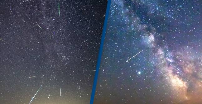 Dazzling Lyrid Meteor Shower Will Light Up The Sky In Gold Tomorrow