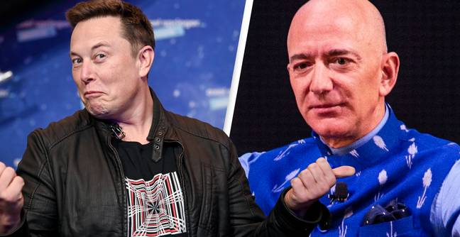 Elon Musk Says Jeff Bezos 'Can't Get It Up' After SpaceX Beats Blue Origin To $2.9 Million NASA Contract
