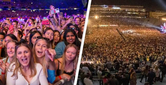 More Than 50,000 Attend Concert In New Zealand After Country Ends Pandemic