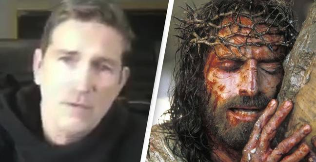 Guy Who Played Jesus In The Passion Of The Christ Thinks Kids Are Being Drained For Their Blood