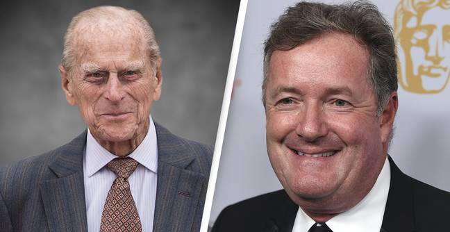 Piers Morgan Called Out For Blatant Hypocrisy Over Prince Philip's Death