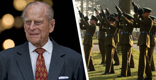 Gun Salutes To Be Fired Across UK At Midday To Mark Prince Philip's Death