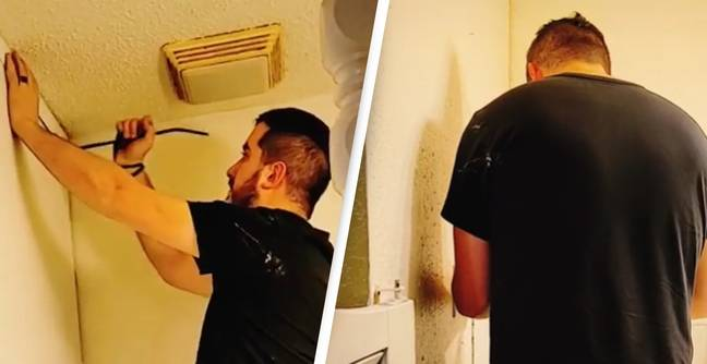 Couple Discover Entire Hidden Bathroom While Decorating Home