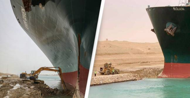 The Guy Driving The Suez Canal Digger Didn't Like Becoming A Meme